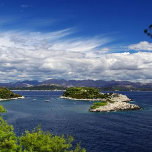 Unique Beauty Of The Island Of Mljet Croatia