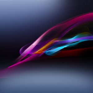 Hi Tech Sony Xperia Cosmic Abstraction Digital Smoke Background