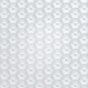 White Hexagon Pattern Abstract Mobile Wallpaper     X