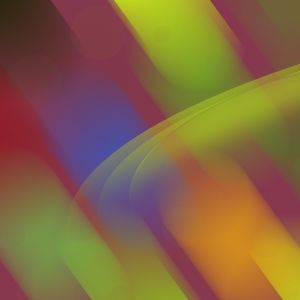 Colorful Blurred Stripes Abstract Mobile Wallpaper     X