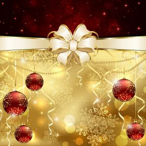 Christmas Decoration Desktop Background
