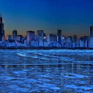 Chicago Skyline Wallpaper Galaxy S  Wallpaper