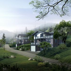 Wonderful Chinese Garden Architecture City HD Samsung Galaxy S  Wallpaper