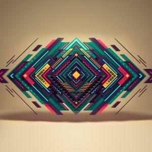 Geometry HD Samsung Galaxy S  Wallpapers