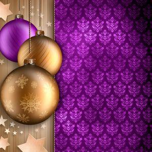 Purple Gold Desktop Background