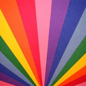 Papers Co Va   Rainbow Light Pattern    Wallpaper