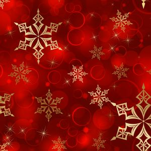 Golden Snowflake Pattern Digital Art Mobile Wallpaper     X