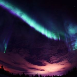 Papers Co Me   Valentine Beautiful Aurora Night Sky    Wallpaper