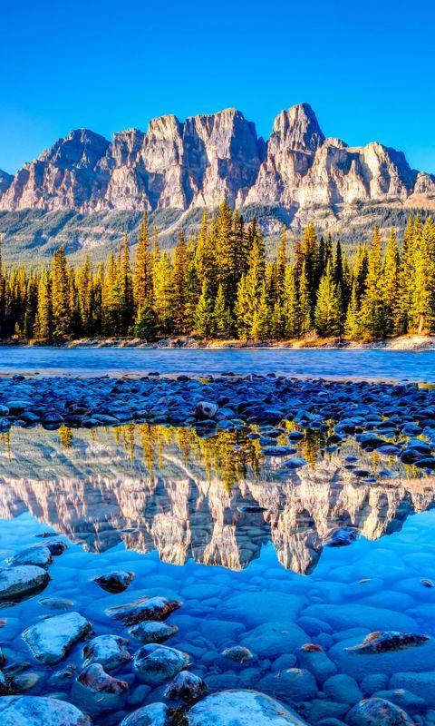 Beautiful Banff National Park Iphone   Wallpaper Ilikewallpaper Com