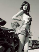 Beautiful Motorcycle Girl Iphone   Wallpaper Ilikewallpaper Com