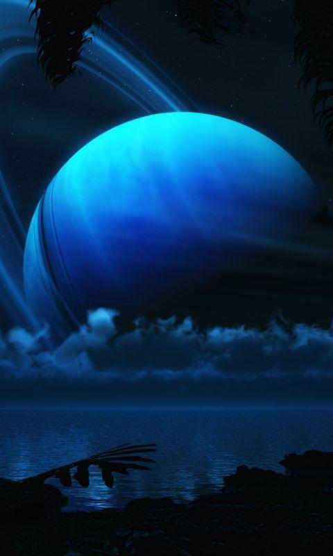 Beautiful Earth Fantasy HD Wallpaper For LG G  Smartphone