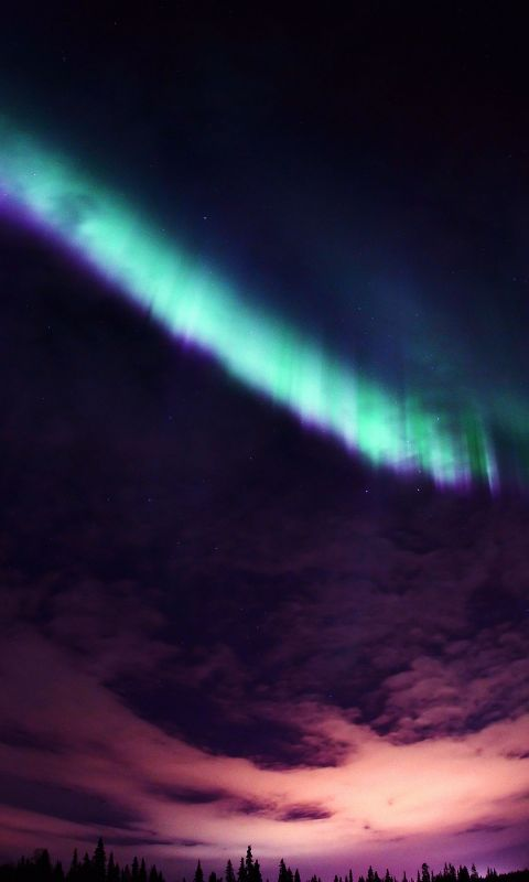 Papers Co Me   Valentine Beautiful Aurora Night Sky    Iphone  Plus Wallpaper
