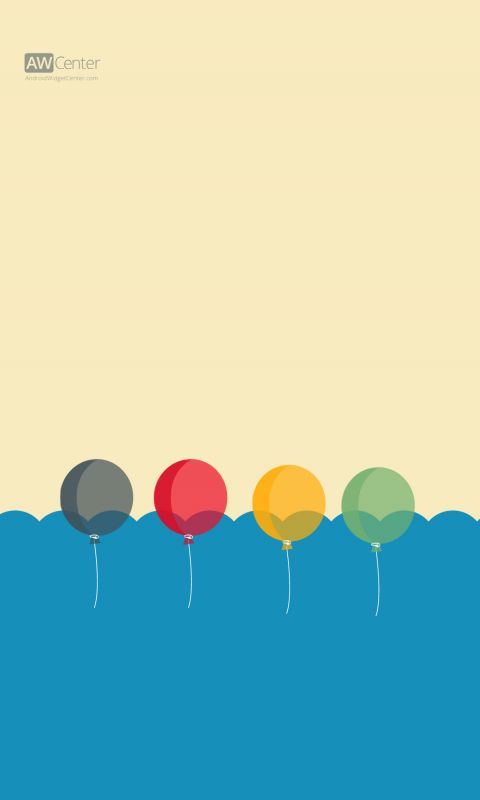 Android HD Wallpaper Balloons