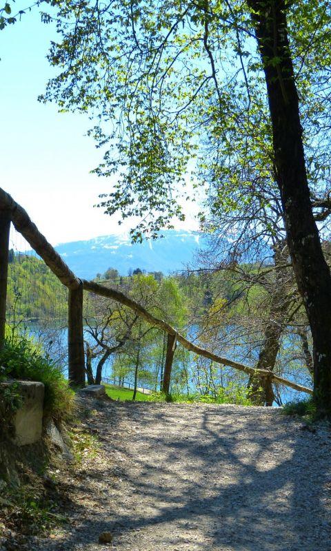 Away Beautiful Scenery Nature Park Lake Hd Wallpapers     X
