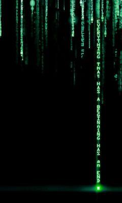 Matrix Samsung S  Wallpaper