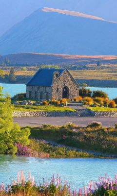 Lake Tekapo Travel Beautiful Scenery New Zealand