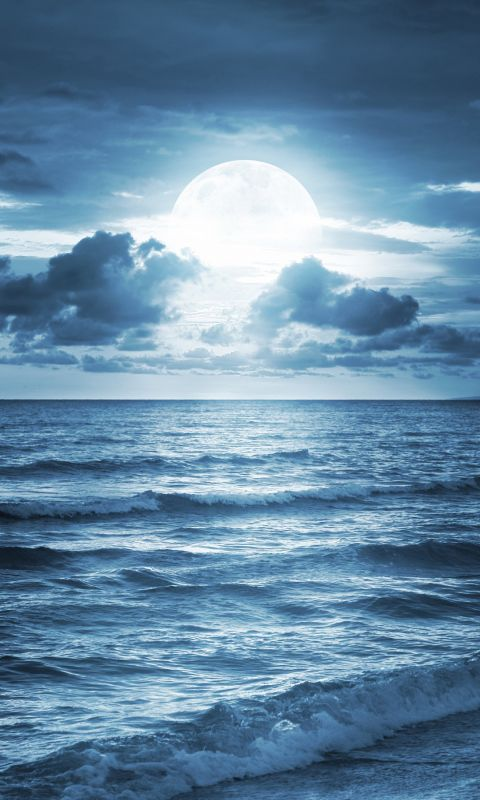 Blue Beach Iphone   Plus Wallpaper