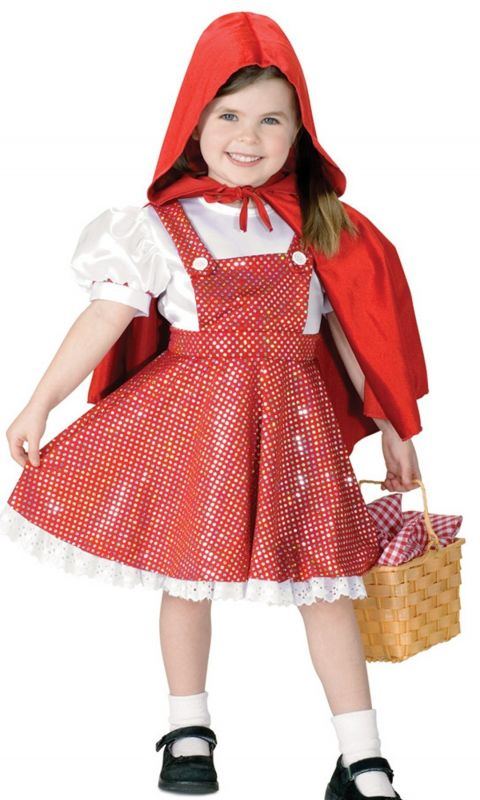 Beautiful Child Girl Little Red Riding Hood Wallpaper