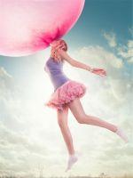 Pink Balloon girl