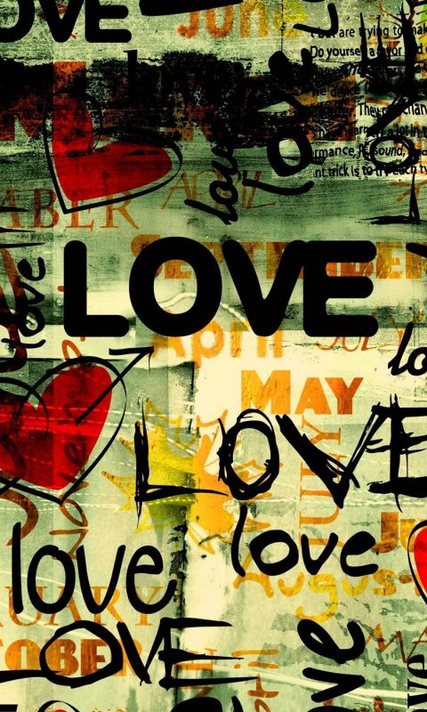 Wallpaper Iphone   Little Writing Love Mini     Inch