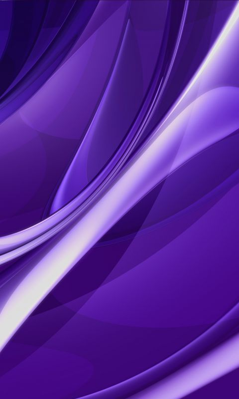 Smooth Metal Effect Purple Abstract HD Wallpaper
