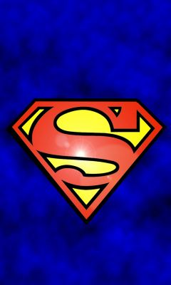 Abstract Funny Superman Logo Iphone   Wallpaper Ilikewallpaper Com