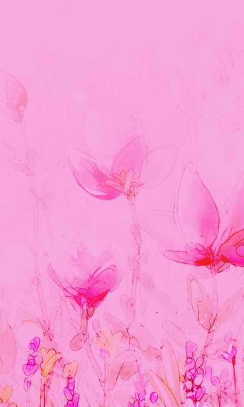 Pink Abstract Wallpaper Iphone   Plus