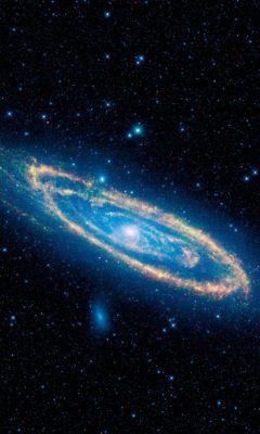 Clean Abstract Minimalistic Galaxy Wallpaper Hd