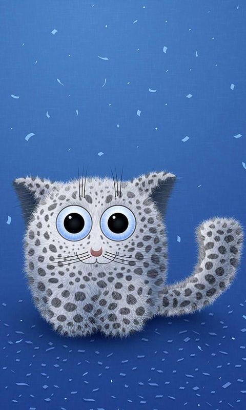 Abstract Cute Cat Iphone   Wallpaper Ilikewallpaper Com