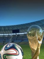 Free Download Wallpaper For Android     X     Sports World Cup      Brazil Trophy And Brazuca Ball