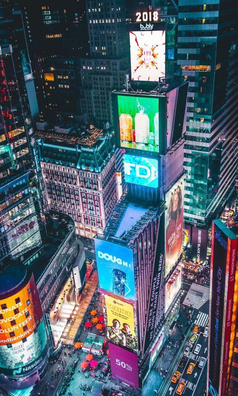Time Square New York wallpaper