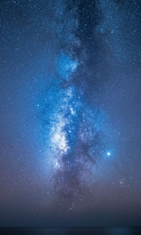 view of milkyway wallpaper