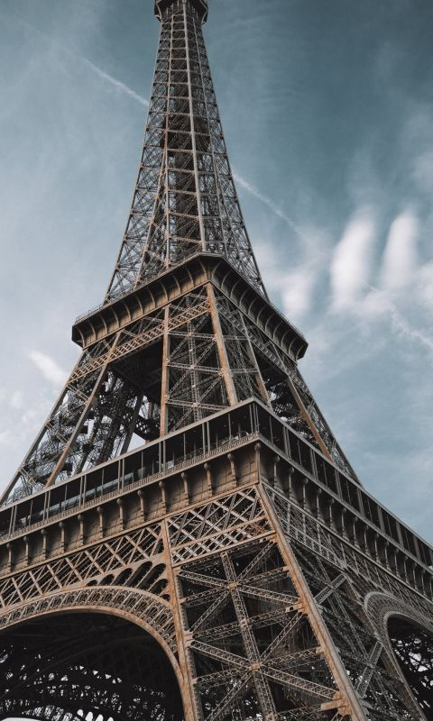 macro photography of Eiffel Tower in Paris France wallpaper