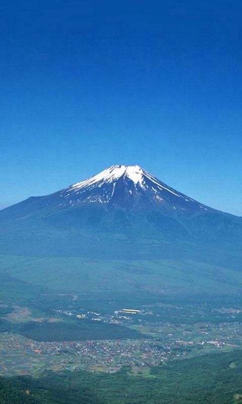Nature Volcano Mountain Remote Scenery Plain Land wallpaper