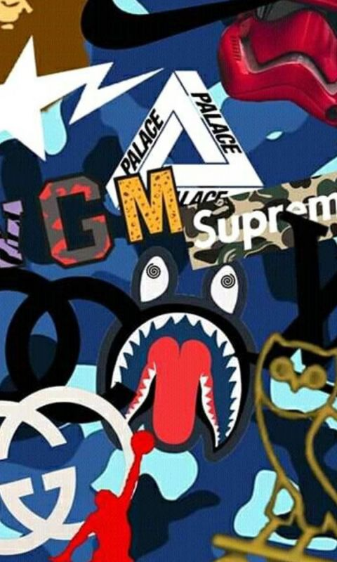 Hypebeast BAPE Cave wallpaper