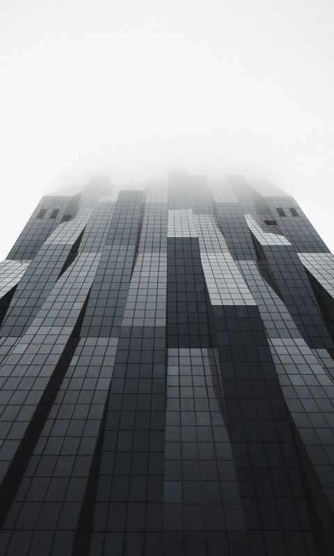 low angle photo of high rise building wallpaper