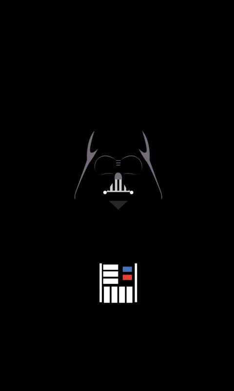 Vader Minimalist wallpaper