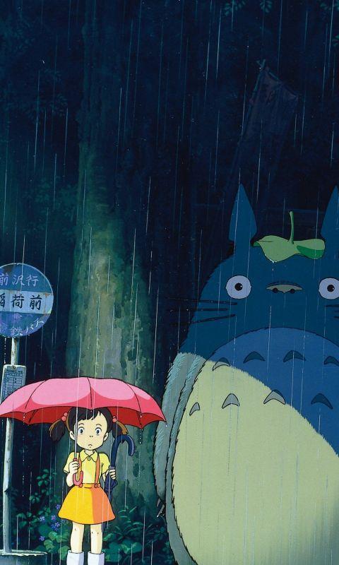 My Neighbor Totoro Phone in 2020 wallpaper