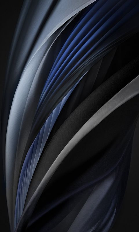 iphone se 2020 stock wallpaper Silk Silver Mono Dark wallpaper