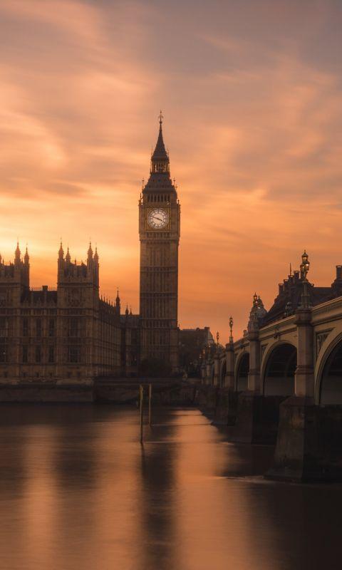 Big Ben in London wallpaper