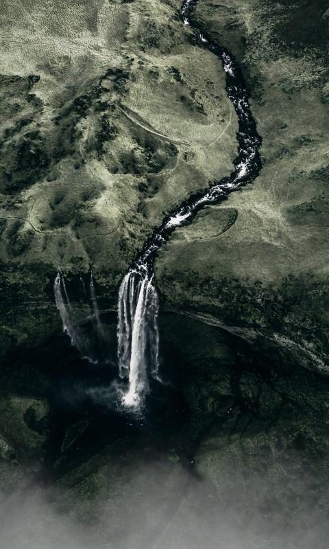 aerial shot wallpaper