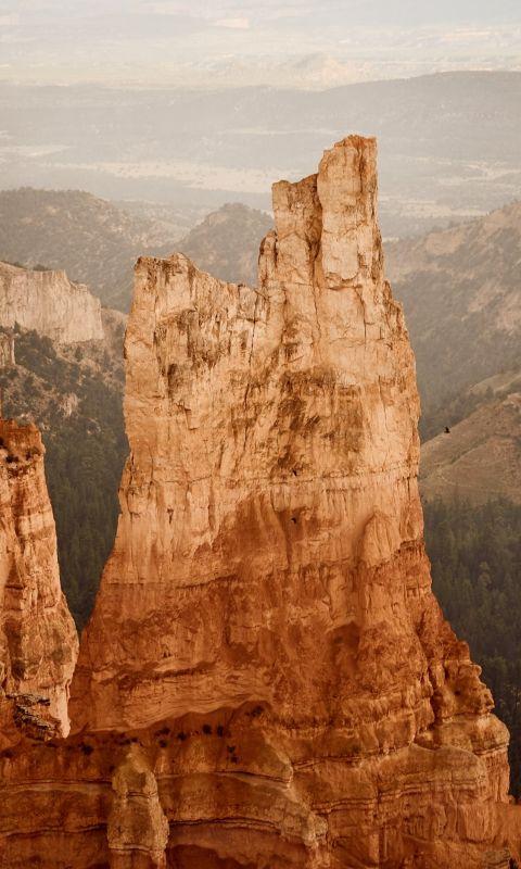brown mountain wallpaper