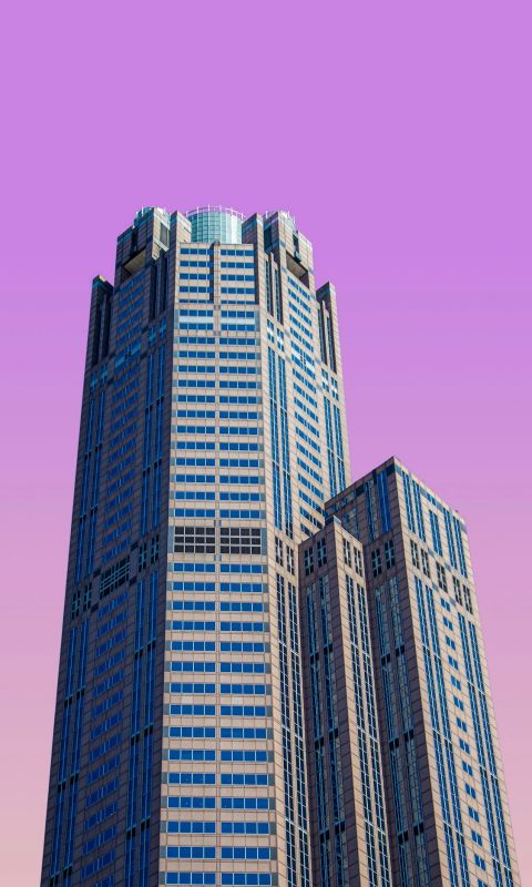 high rise building wallpaper