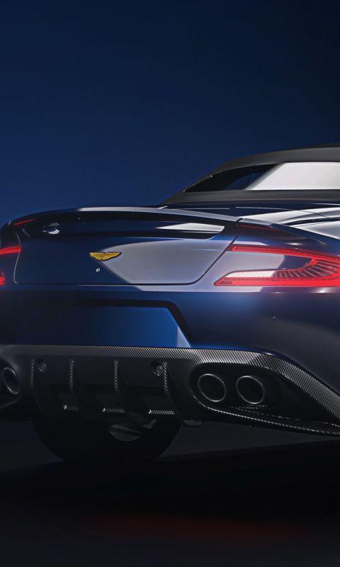 Aston Martin Vanquish S Volante Tom Brady Signatur... wallpaper