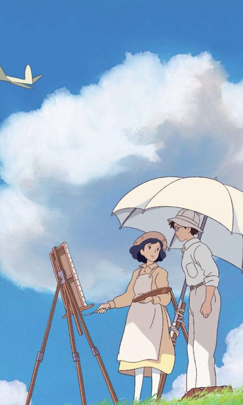 The Wind Rises Phone in 2020 wallpaper