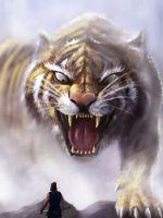 Tiger In The Woods Sony Xperia X XZ Z5 Premium HD ... wallpaper