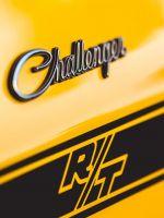 yellow Dodge Challenger wallpaper