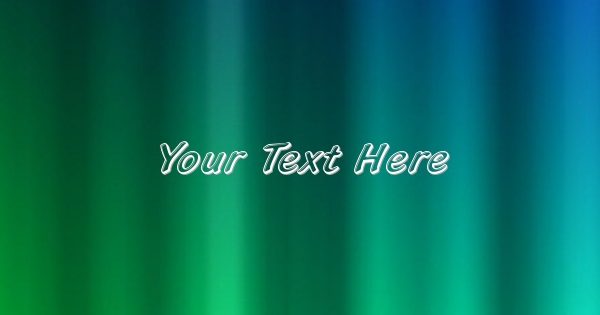 Write text/name on a wallpaper