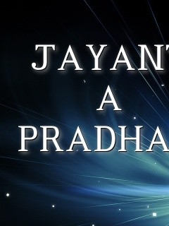 JAYANT A PRADHAN Text Wallpaper