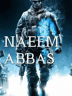 NAEEM ABBAS Text Wallpaper